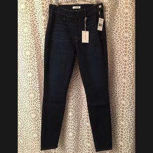 Good American Side Zip Skinny Jean